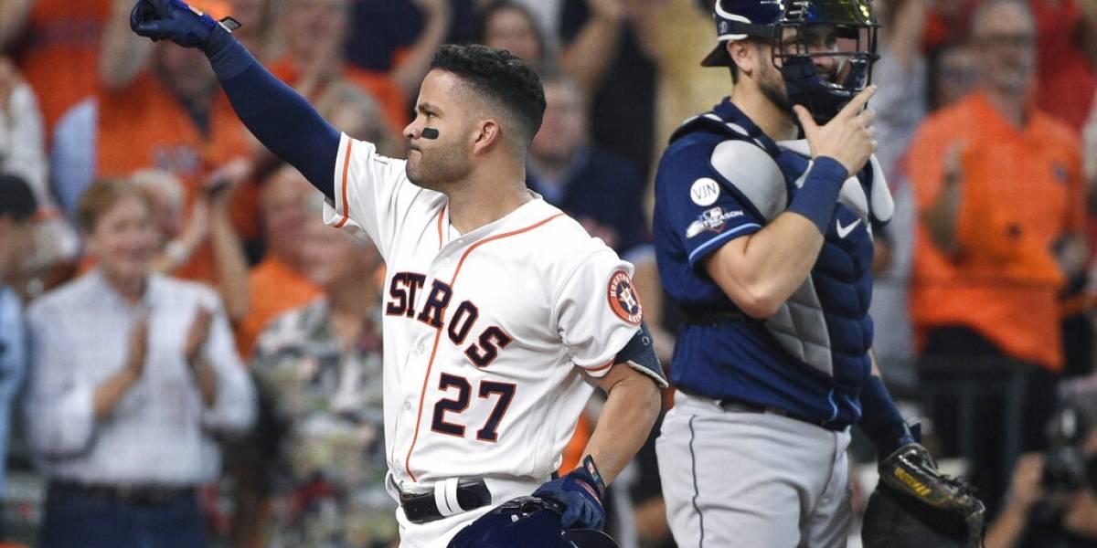 Verlander y Altuve llevan a los Astros a un triunfo sobre los Rays