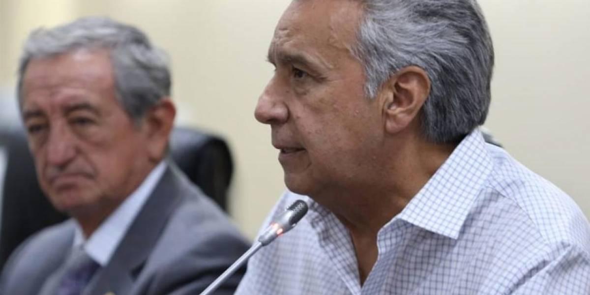 Paro nacional: Lenín Moreno se refirió a críticas de Jaime Nebot y Guillermo Lasso sobre medidas económicas