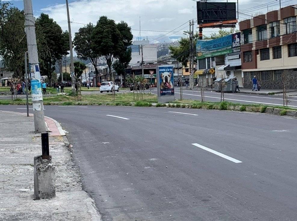 Habilitado, en el sur de Quito, el sector del Mercado Chriyacu y Redondel de la Atahualpa Twitter @ComunicaciónEC