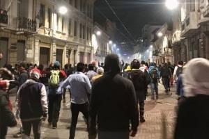 Ocho procesados por delitos penales tras paro nacional del 3 de octubre