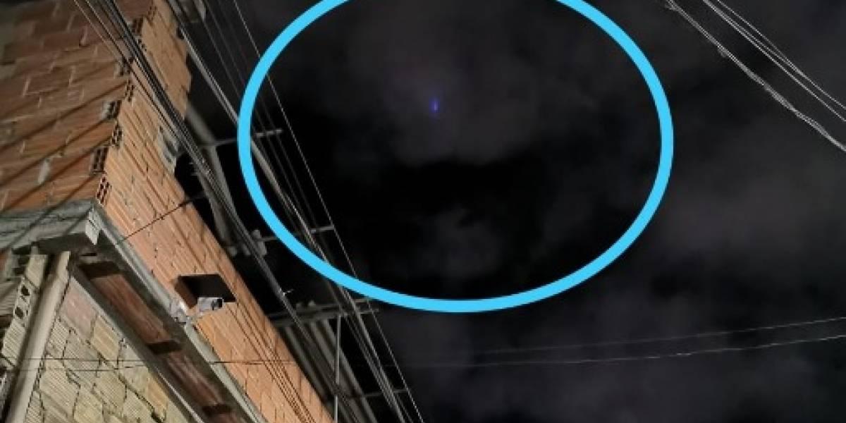 La luz en el cielo de Bogotá que muchos confundieron con el asteroide