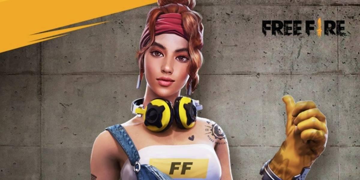 Garena Free Fire terá nova personagem em breve
