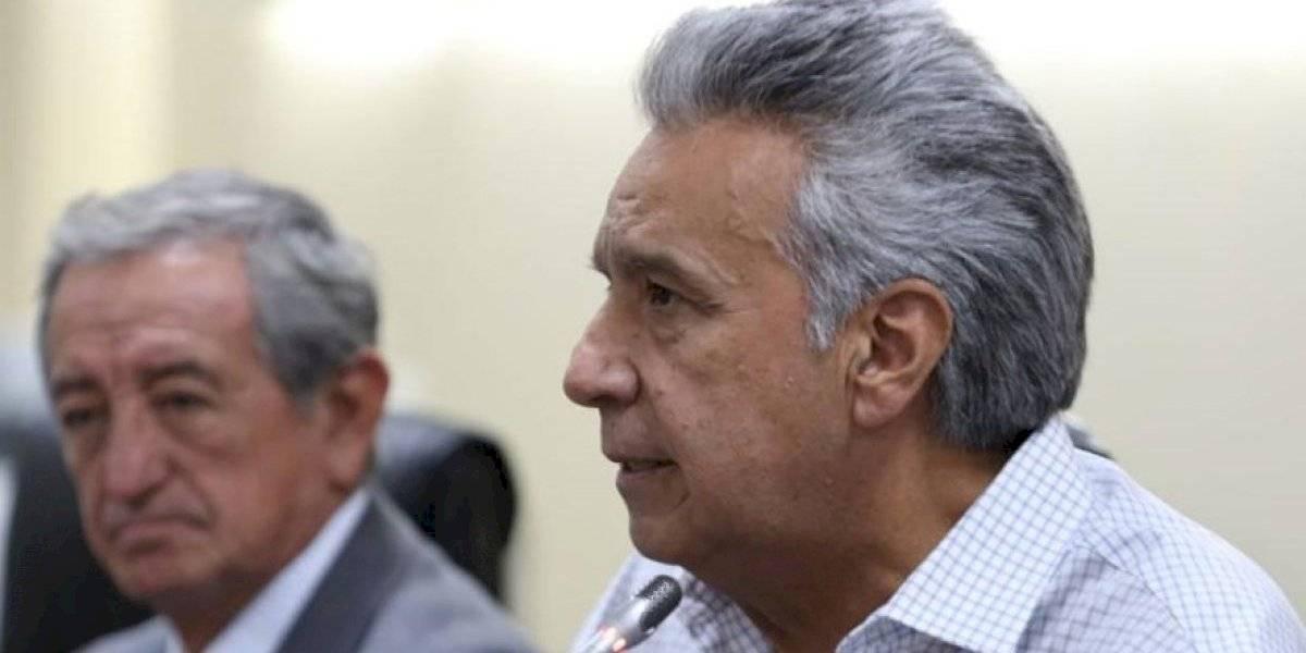 """Lenín Moreno: """"No he pensado renunciar a la Presidencia, por qué, si he tomado las medidas más adecuadas"""""""