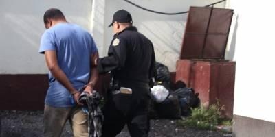 Capturados por asesinar a un agente de la PNC en Villa Nueva