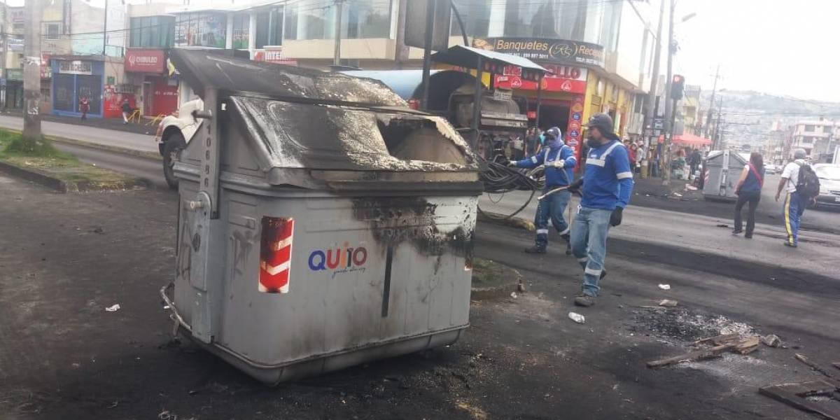 Quito: Jorge Yunda pidió a la ciudadanía no sacar la basura a la calle