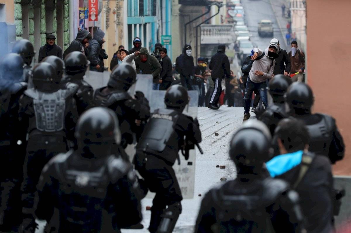 Protestas en Quito el 3 de octubre EFE