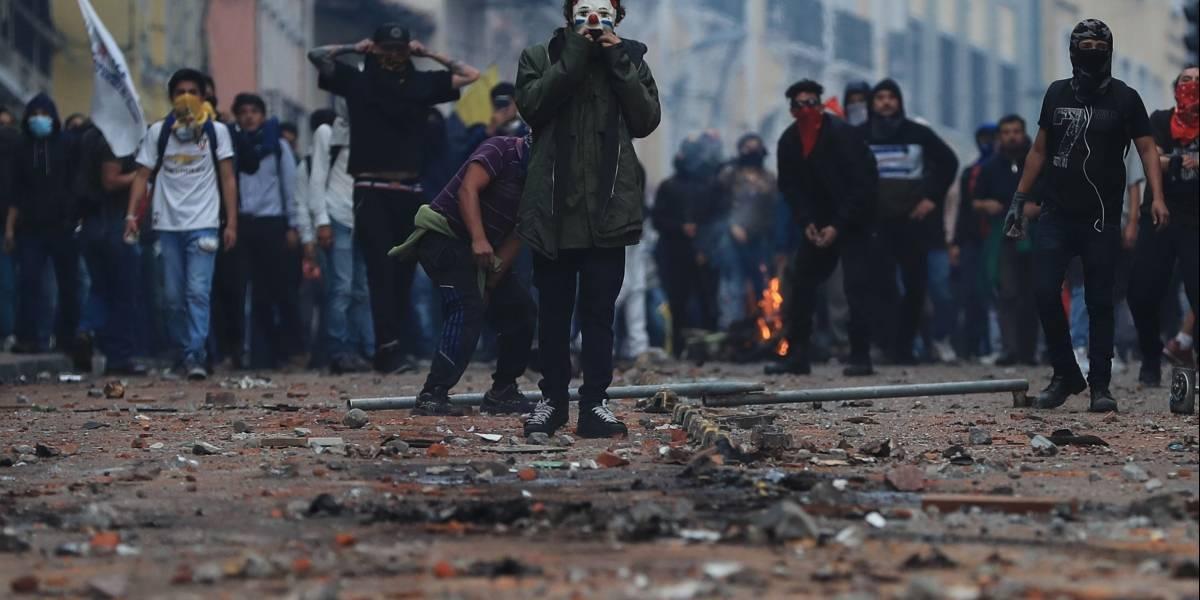Paro Nacional: Así quedo el Centro Histórico después de las manifestaciones del 3 de octubre