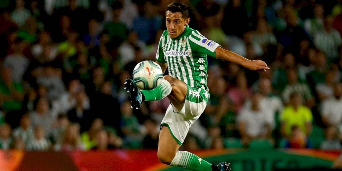 Andrés Guardado y Lainez jugaron en empate del Betis contra el Eibar