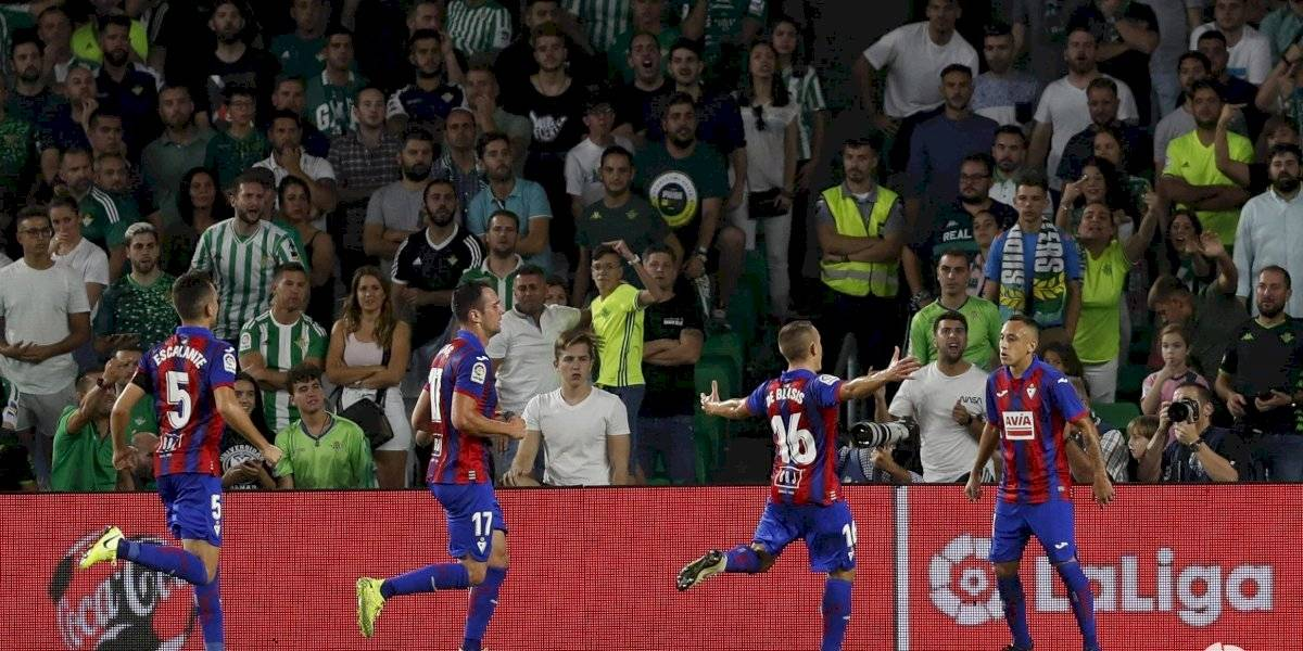Orellana respondió al llamado de Rueda con su tercer gol seguido en la Liga española