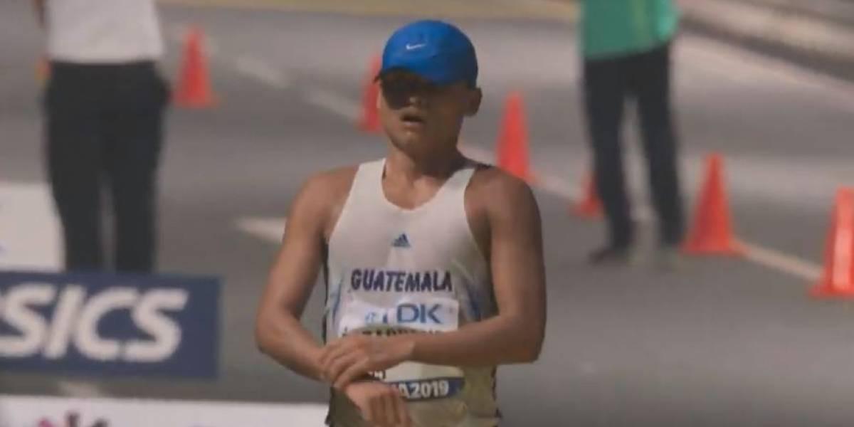 VIDEO. Guatemala con una noche llena de contrastes en el Mundial de Atletismo Doha 2019