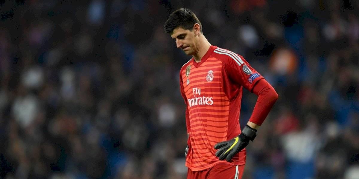 Courtois: Real Madrid aclara situación médica del portero belga
