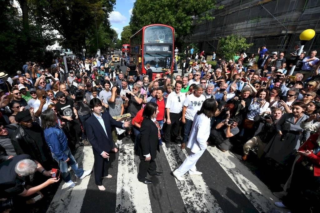 Espectáculos: Los Beatles, otra vez en el primer puesto con