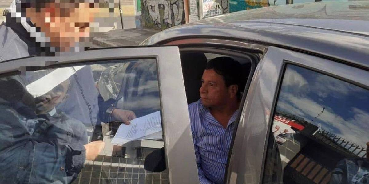 Detienen al dirigente nacional de taxistas, Jorge Calderón