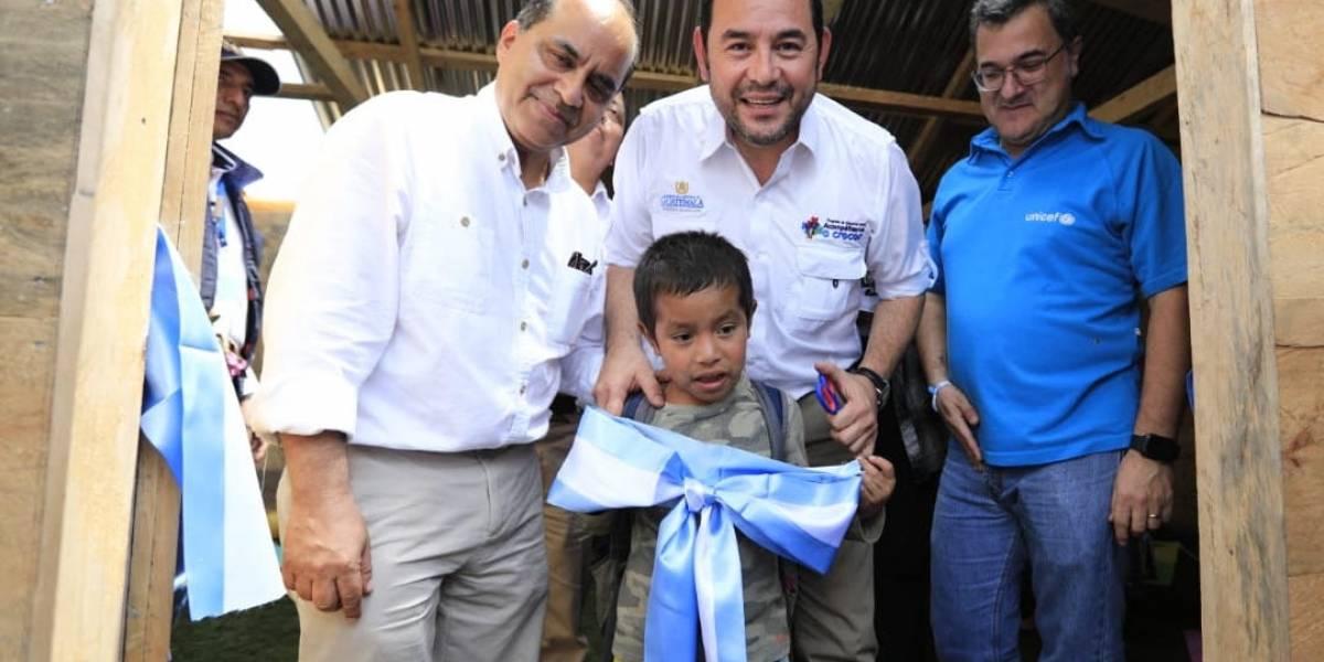 Gobierno inaugura centros de desarrollo infantil en Alta Verapaz