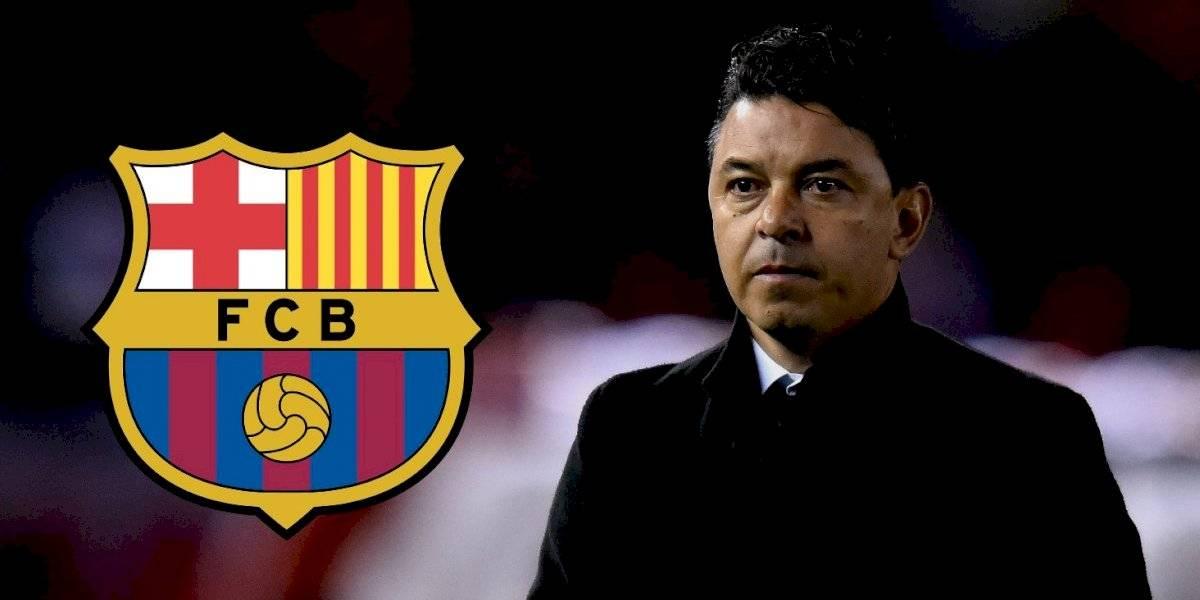 ¡Sería un bombazo! Barça piensa en Marcelo Gallardo para sustituir a Valverde