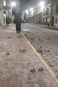 Quito tras paro