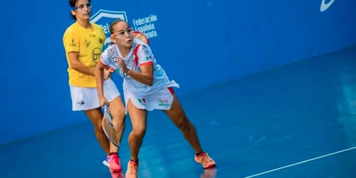Mexicana Laura Puentes pierde Final en Mundial de Frontón