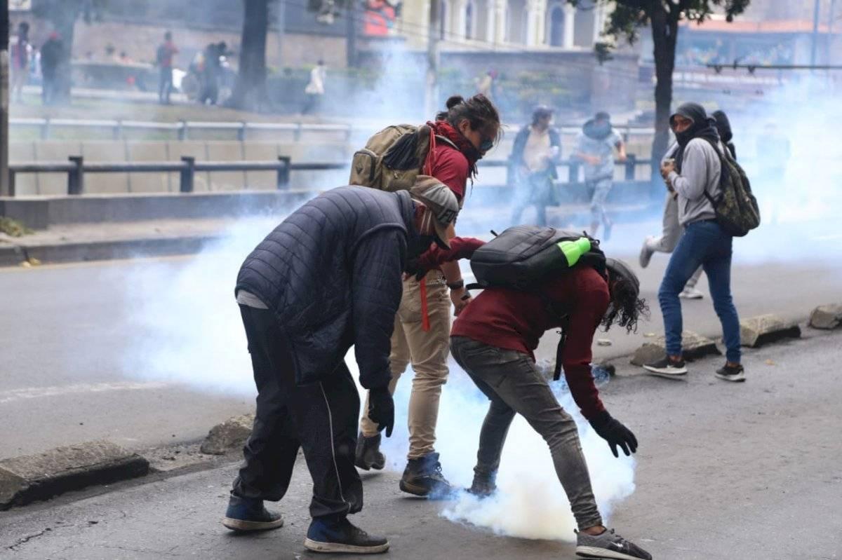 Enfrentamientos en Quito API