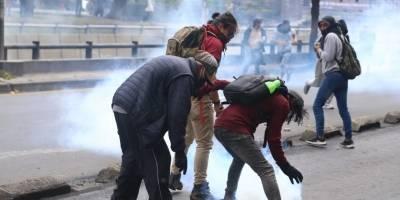 Enfrentamientos en Quito