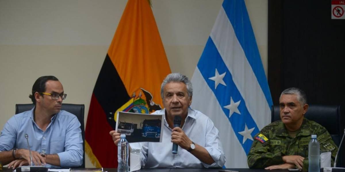 """Lenín Moreno: """"Que quede claro, se eliminó el subsidio, se eliminó la zanganería"""""""