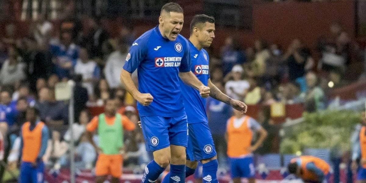 Cruz Azul nunca le había marcado cinco goles al América