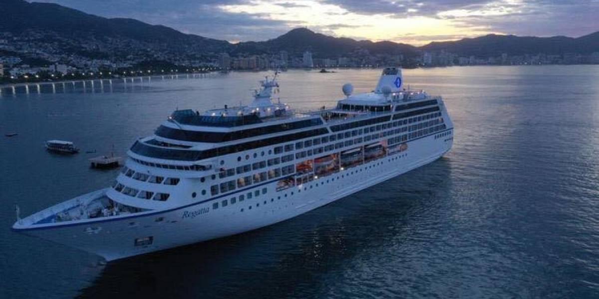 Arriba a Acapulco el primer crucero de la temporada
