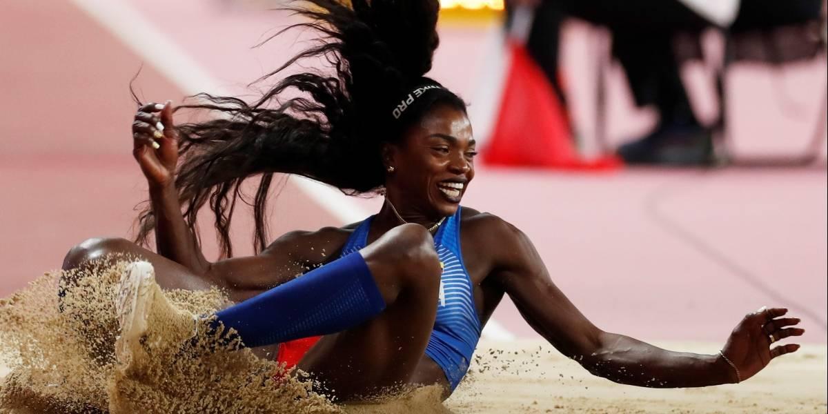 ¡Inmortal! Caterine Ibargüen consiguió otra medalla en un Mundial de Atletismo