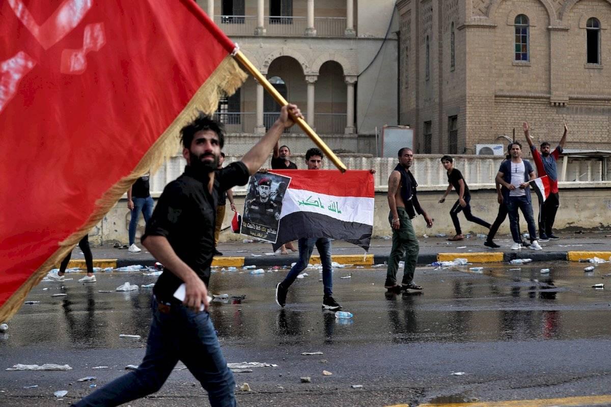 Protestas en Bagdad, Irák