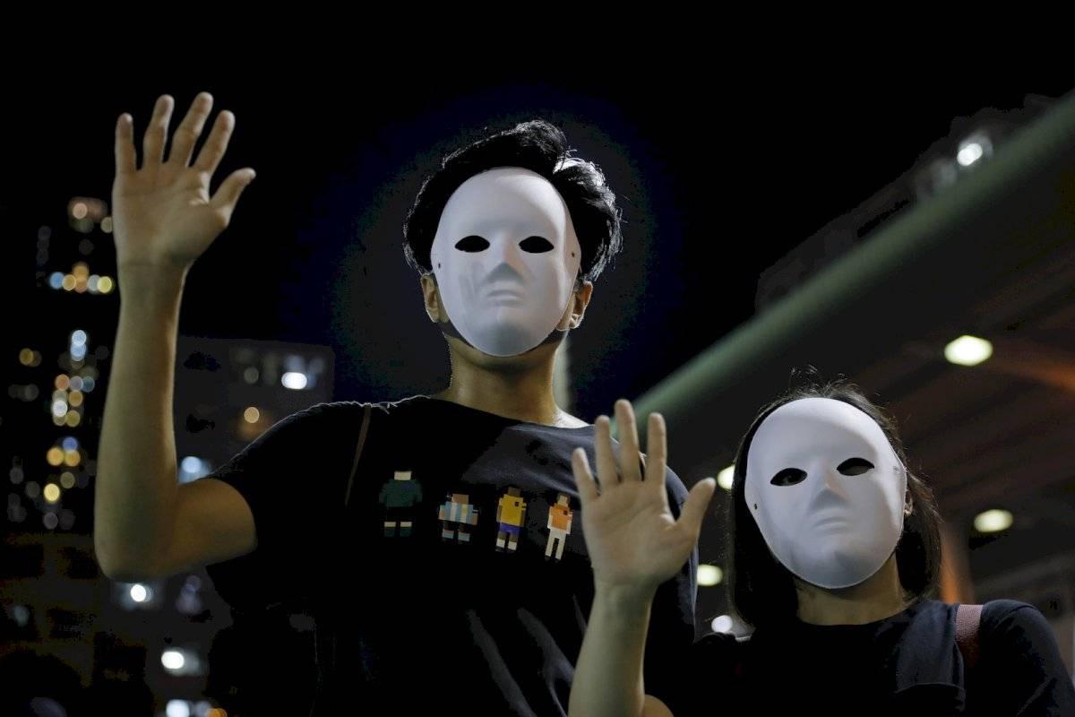 """Lo manifestantes se han mostrado """"preocupados y asustados"""""""