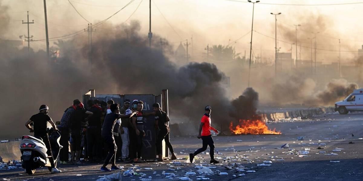 Nueve muertos, 39 heridos en protestas en Irak