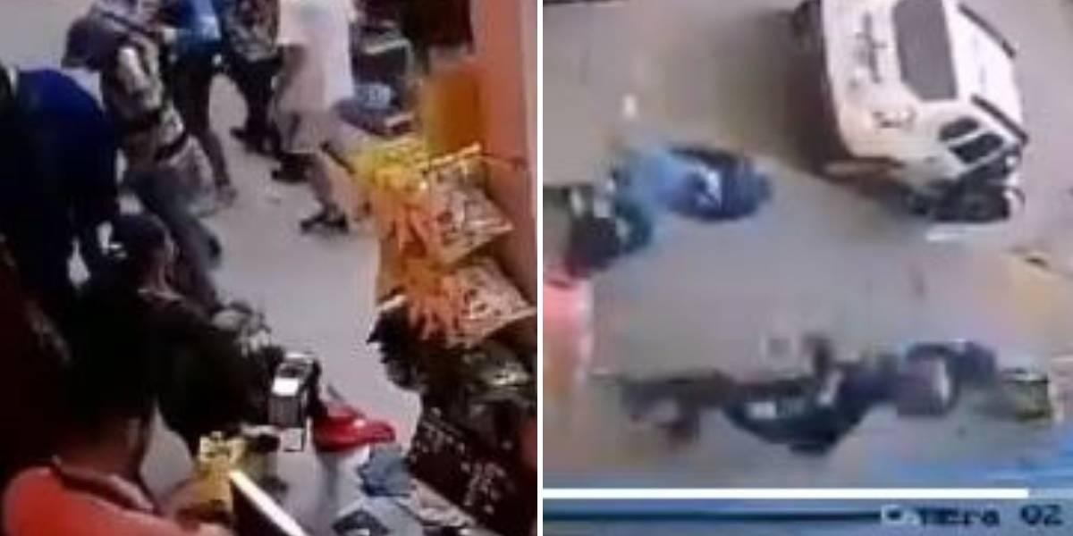 (VIDEO) Seguidores de Millonarios ingresaron y robaron supermercado