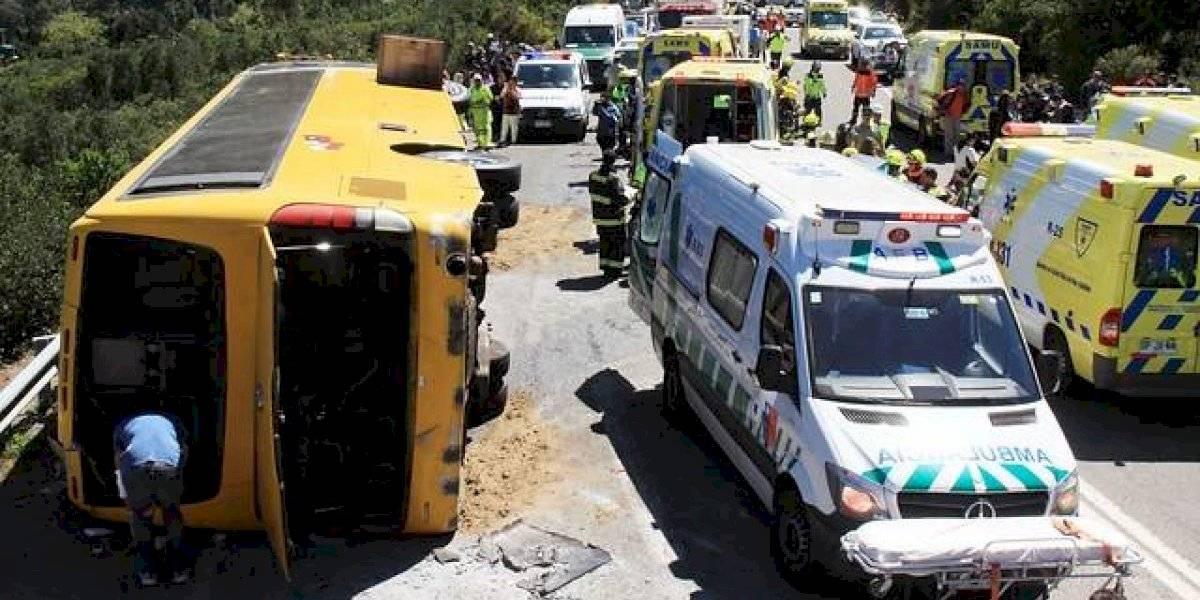 Bus que protagonizó fatal accidente en Curacautín tenía el permiso de circulación falsificado