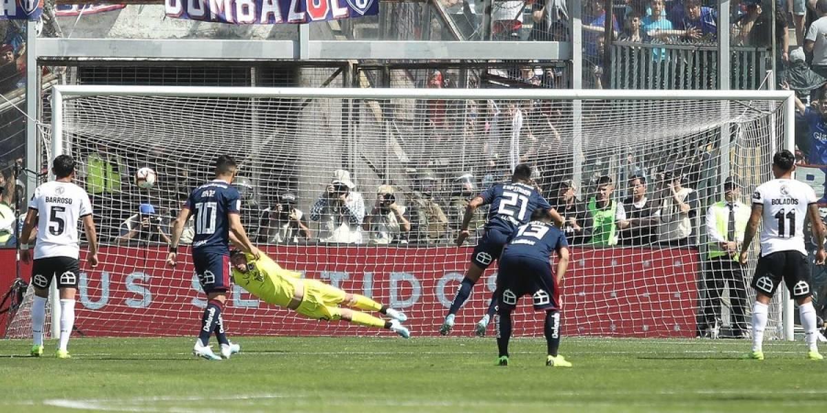 Histórico: La U gana al entretiempo por primera vez a Colo Colo en el Monumental en el Campeonato Nacional