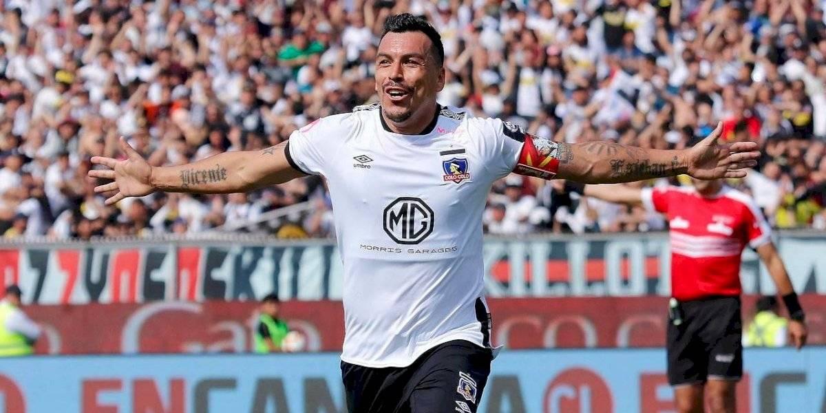 Clubes, arqueros y estadios: todos los datos de los goles de Esteban Paredes en Primera División