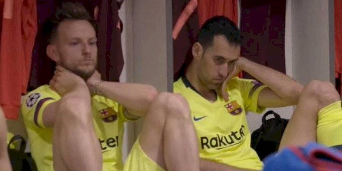 VIDEO. Barcelona revela documental donde salen imágenes inéditas del partido contra el Liverpool
