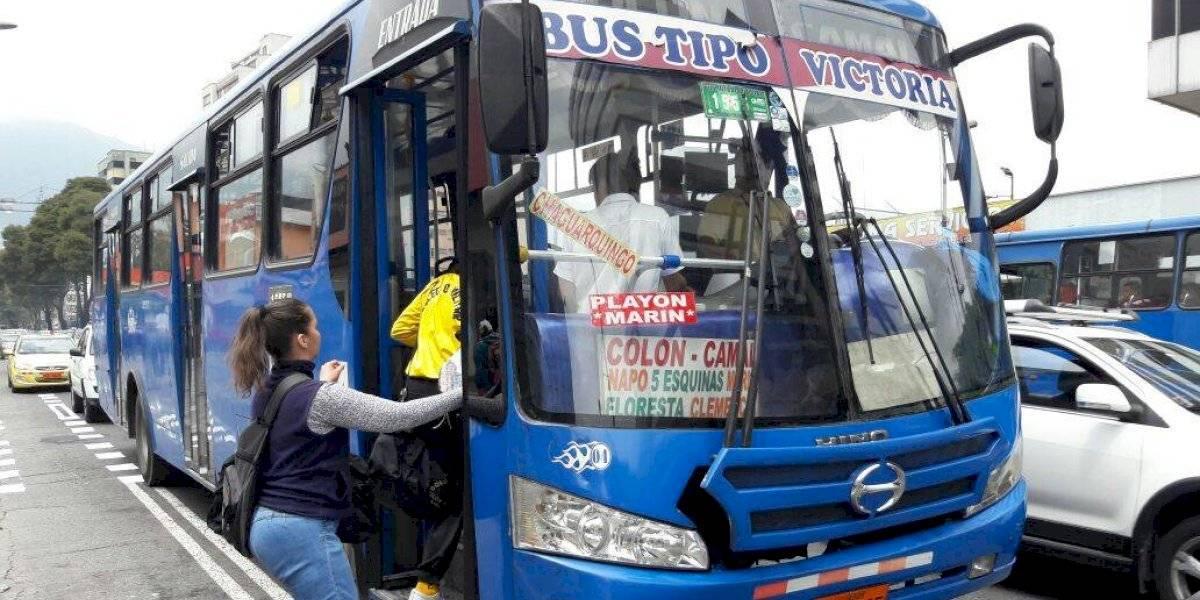 Cámara de Transporte Público pide garantías para brindar el servicio en Quito