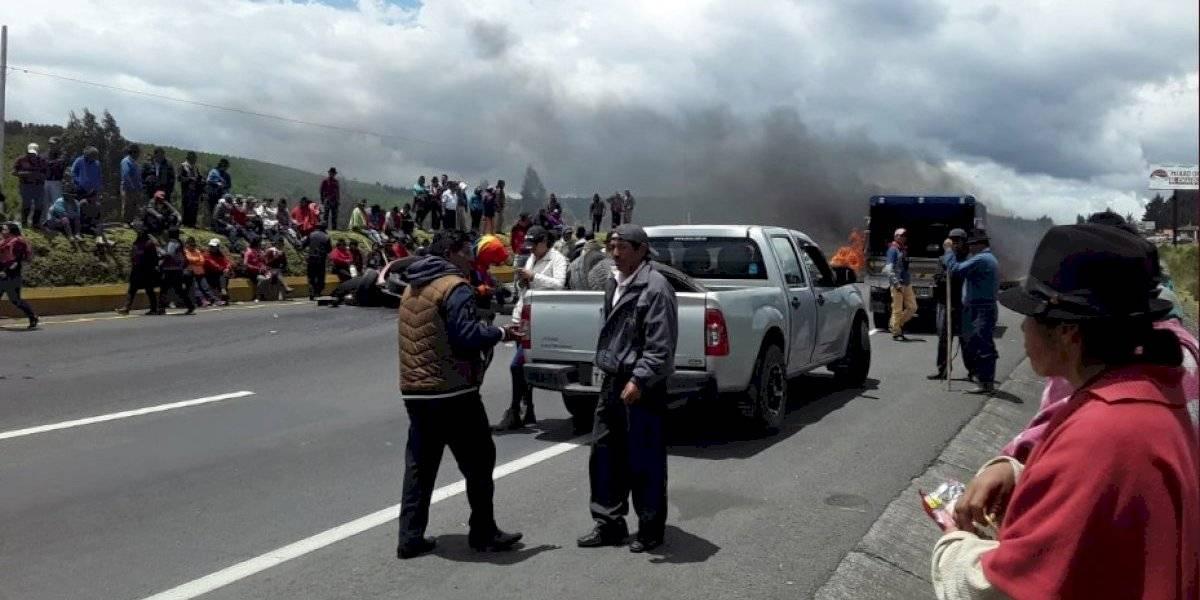 Paro en Ecuador: Dirigente de la Conaie anuncia que si es necesario se tomarán la Asamblea