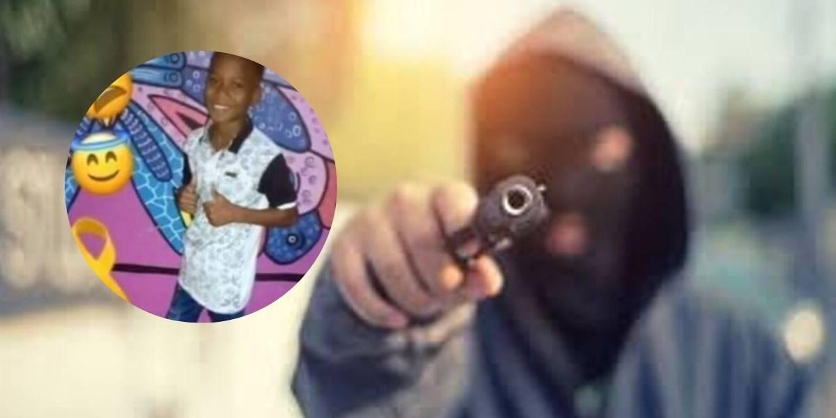 Murió pequeño de 13 años que recibió impacto de bala en medio de un ataque sicarial