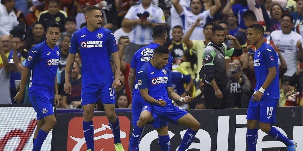 Cruz Azul golea al América y se mete de lleno a la pelea de puestos de Liguilla