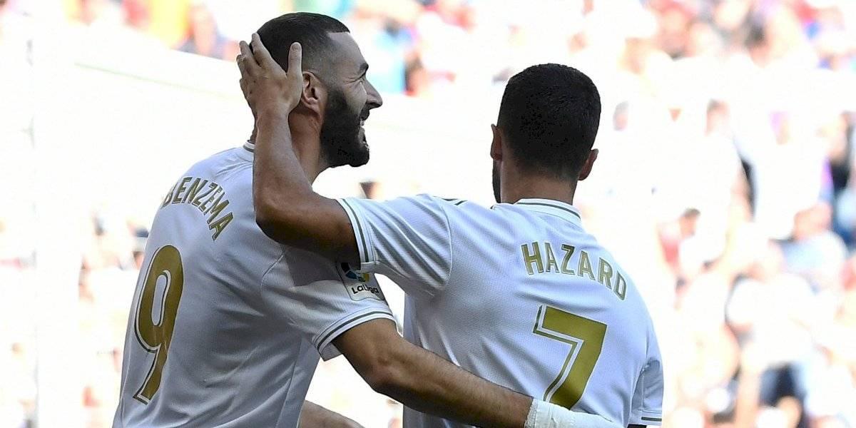 VIDEO: Eden Hazard marca su primer gol con el Real Madrid