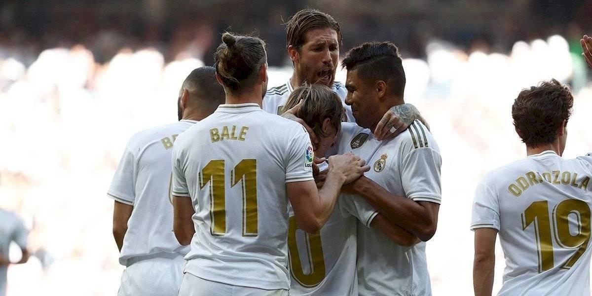 Con gran actuación de Hazard, Real Madrid es líder en España