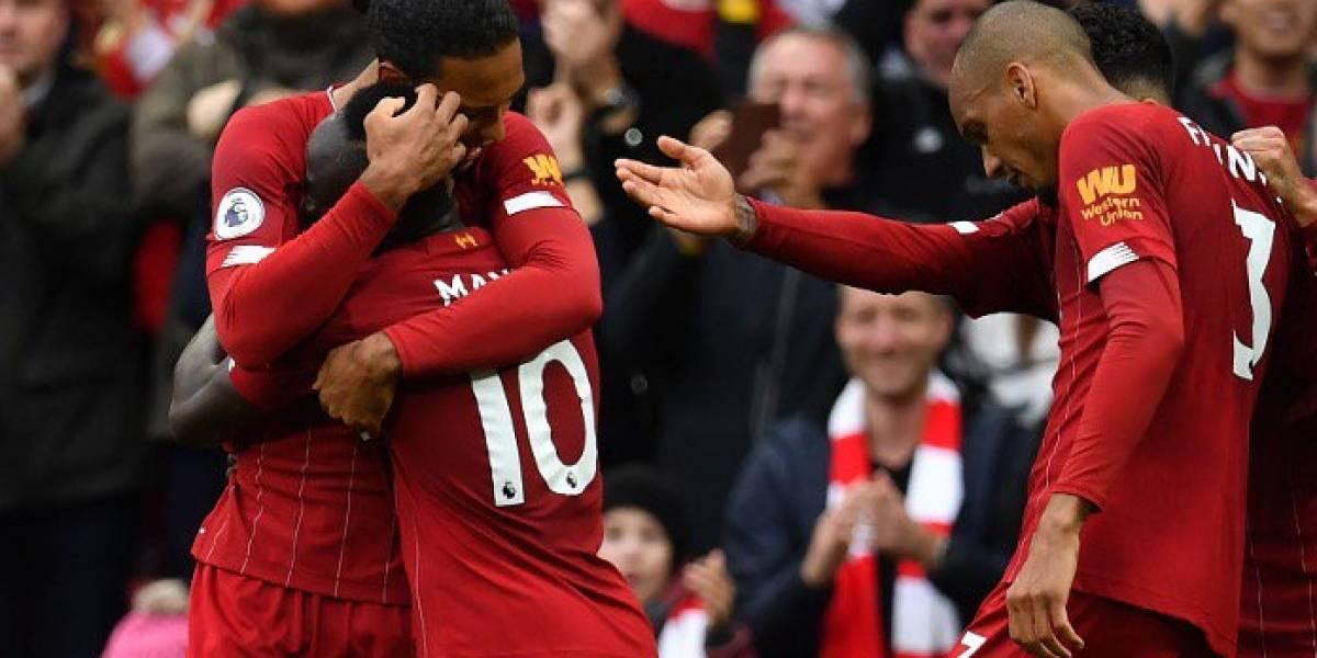 Liverpool rescata el triunfo de último minuto frente al Leicester