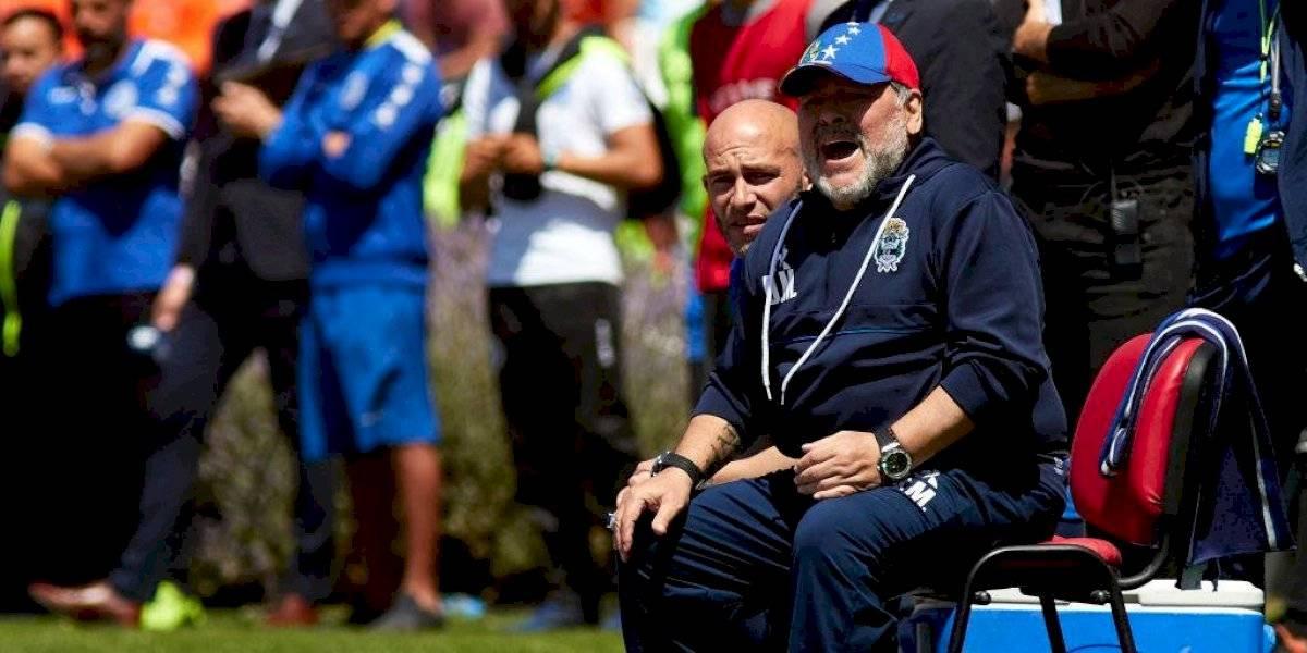 El Gimnasia de Maradona respira en la Superliga argentina al lograr importante goleada