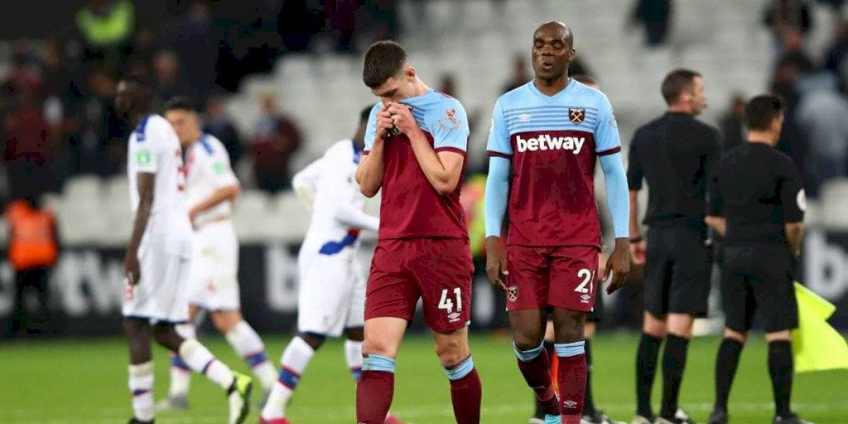West Ham de Pellegrini cayó ante Crystal Palace y salió de las posiciones de competiciones europeas