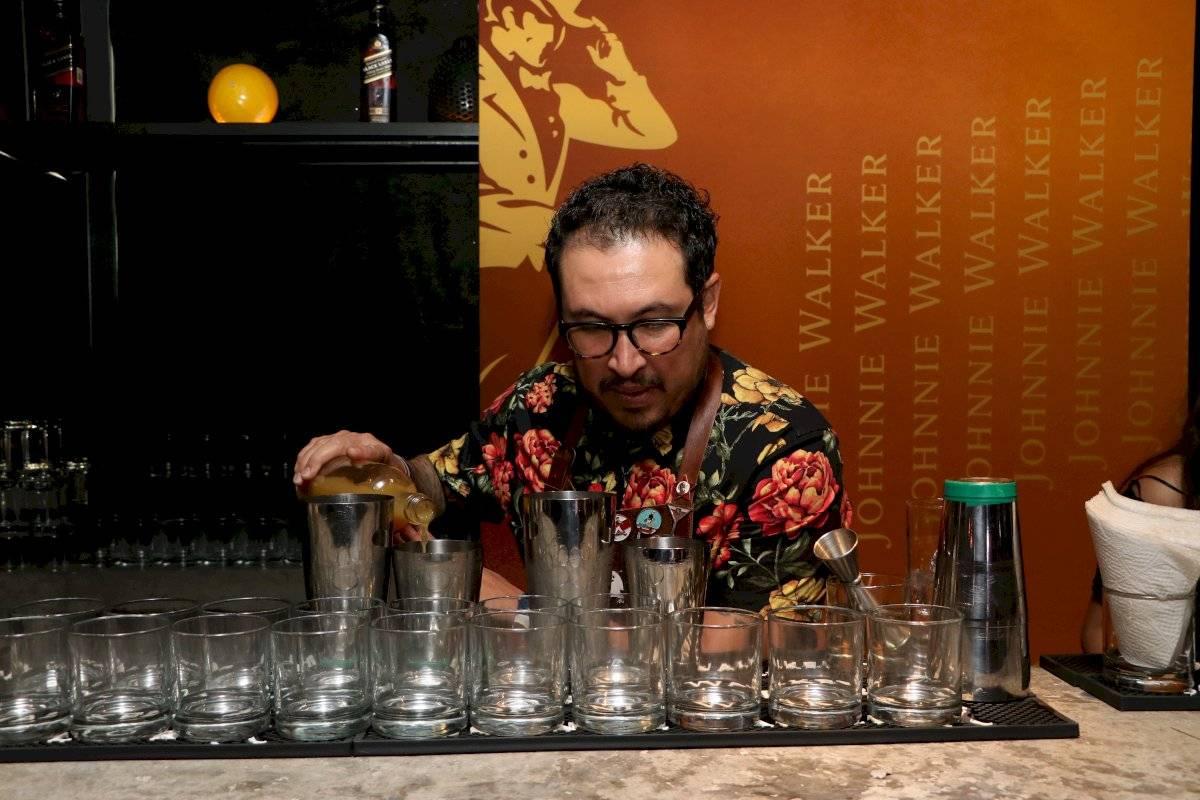 Preparación de bebidas Foto de Axel Amézquita