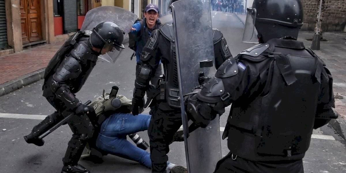 Paro en Ecuador: Fiscalía anuncia sanciones a policías o militares que lastimen a civiles
