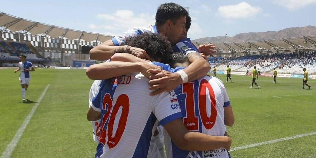 Antofagasta sumó una victoria clave ante O'Higgins y le puso tarea a la U en la lucha por no bajar a Primera B