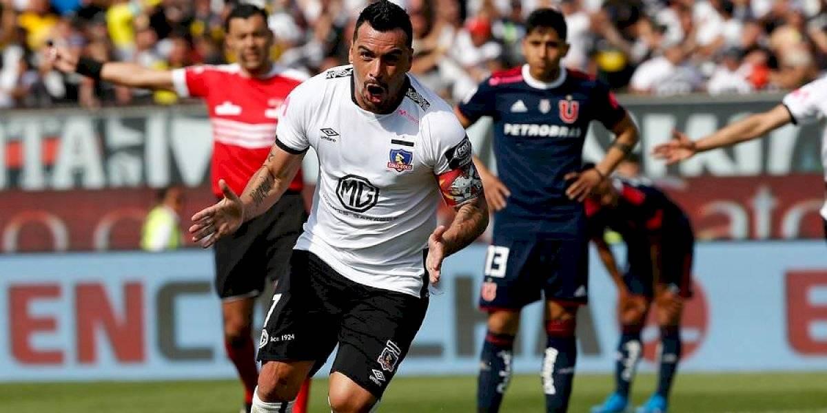 Así vivimos la victoria de Colo Colo sobre la U en el Monumental donde Esteban Paredes se convirtió en el máximo goleador de Primera División
