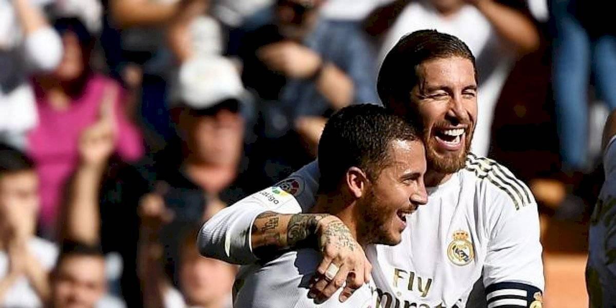 Con una brillante actuación de Hazard, el Madrid derrota al Granada