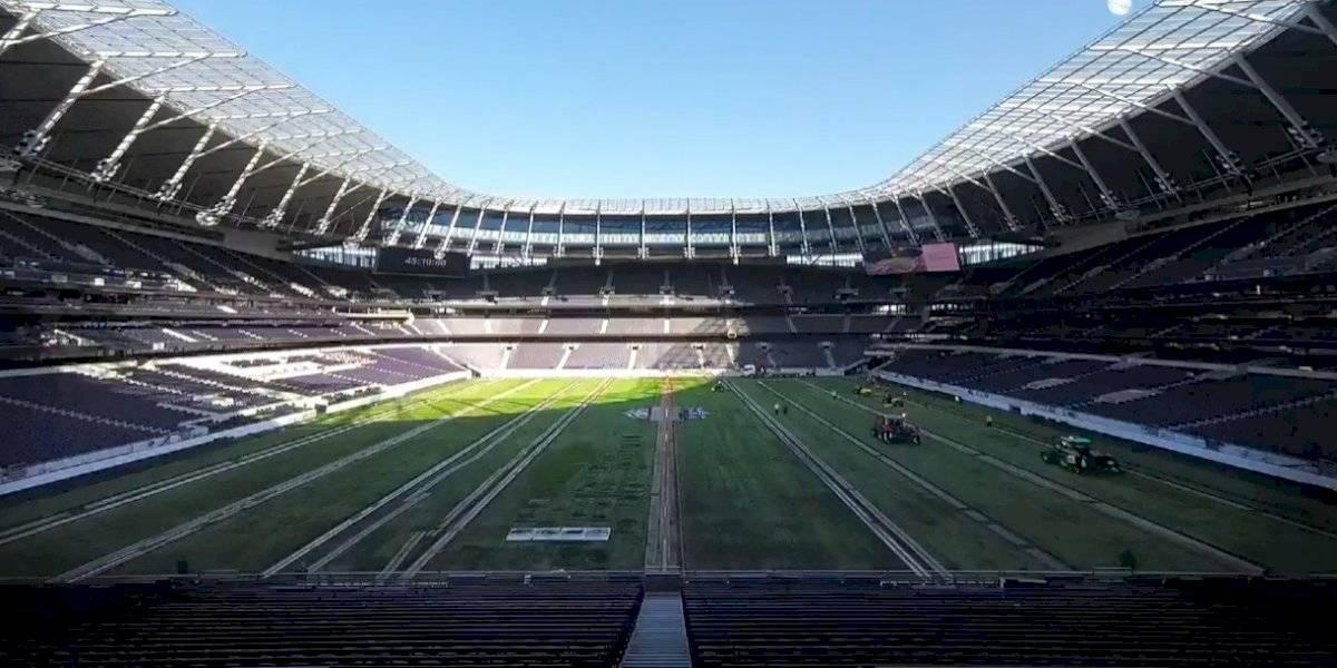 VIDEO: ¡De otro mundo! La transformación de la cancha del Tottenham para el duelo de NFL